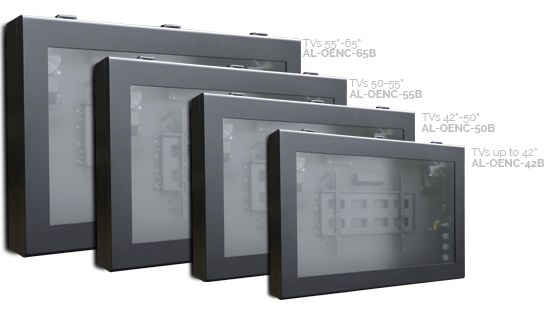 Outdoor TVs and TV enclosures for Australia, USA and NZ