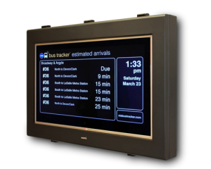 42 inch outdoor information display with LG monitor