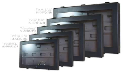 Full Range of Outdoor TV Enclosure Sizes Available