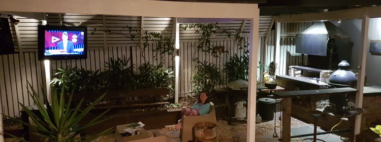 How to Take Your Home Entertainment Outside