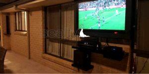 Outdoor TV and Speakers