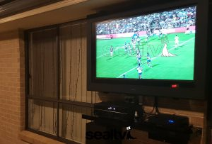 19 Reasons Why You Should Let Your Sports Fan Partner Have an Outdoor TV